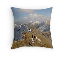 County Kerry mountains Throw Pillow