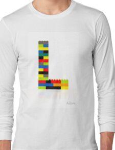 """L"" Long Sleeve T-Shirt"