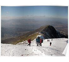 Carrauntoohil Ascent Poster