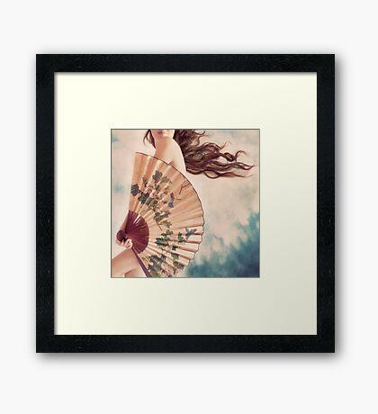 big fan Framed Print