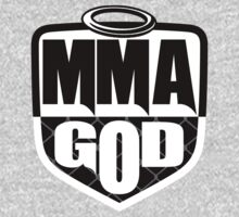 MMA God (Clean Version) Kids Clothes