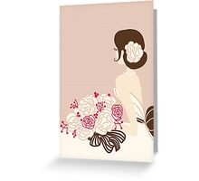 Whimsical Bride Greeting Card