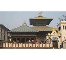 TEMPLE OF PASHUPATINATH Photographic Print