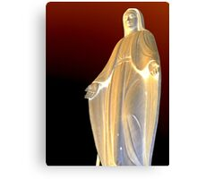 Mother mary Statue at Genova  Canvas Print