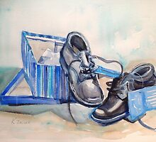 New shoes by Karin Zeller