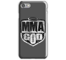MMA God (Distressed Version) iPhone Case/Skin