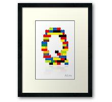 """""""Q"""" Framed Print"""