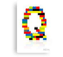 """""""Q"""" Canvas Print"""
