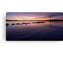 Dusk - Flying Fish Point Canvas Print