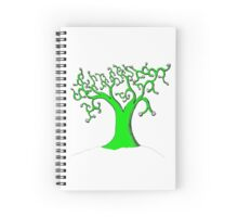 The Binary Tree Spiral Notebook