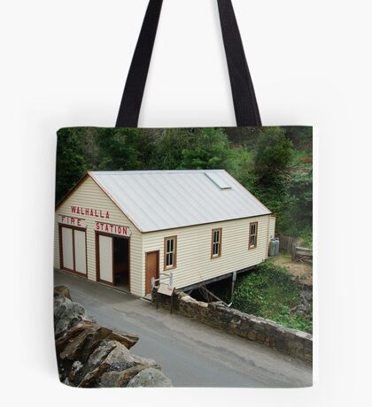 Walhalla Fire Station Tote Bag