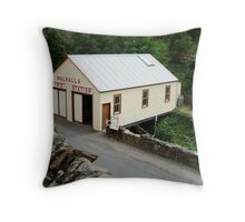 Walhalla Fire Station Throw Pillow