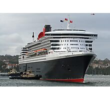 Queen Mary 2 Arrives Sydney 003 Photographic Print
