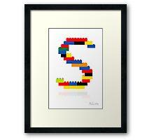 """""""S"""" Framed Print"""