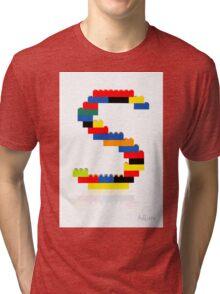 """S"" Tri-blend T-Shirt"