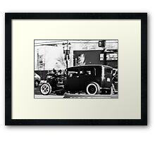 Vintage Classic Hot Rod (Merica) Framed Print