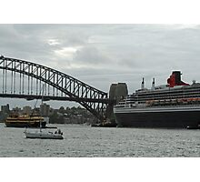 Queen Mary 2 Arrives Sydney 006 Photographic Print