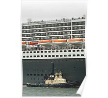 Queen Mary 2 Arrives Sydney 008 Poster