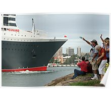 Queen Mary 2 Arrives Sydney 010 Poster