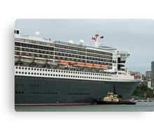 Queen Mary 2 Arrives Sydney 011 Canvas Print