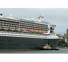 Queen Mary 2 Arrives Sydney 011 Photographic Print