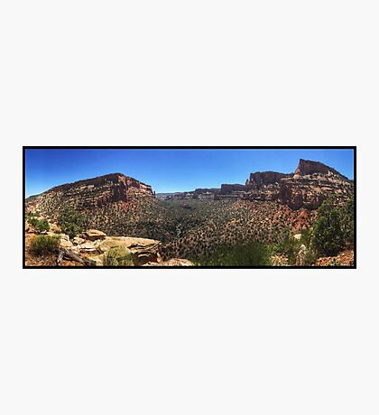 Devils Canyon Summer Panorama Photographic Print