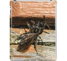 Insect and Table 2 iPad Case/Skin