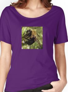 Bee Close Up Women's Relaxed Fit T-Shirt