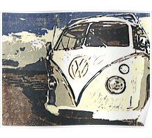 VW Splt Screen Camper 1 Poster
