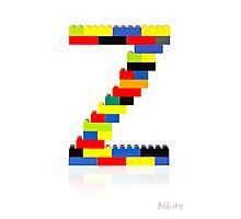 """""""Z"""" Photographic Print"""