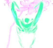 Loki's Helmet- Watercolor Lillies by boondockbtch