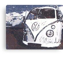 VW Splt Screen Camper 2 Canvas Print