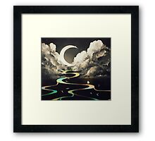 ascending by aurora. Framed Print