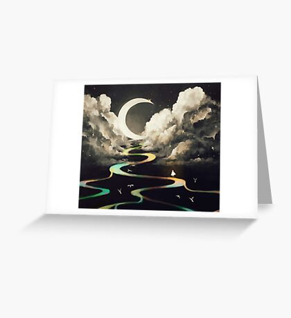 ascending by aurora. Greeting Card