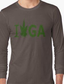 I Love GA Long Sleeve T-Shirt