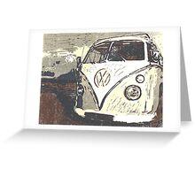 Splt Screen VW Camper 3 Greeting Card