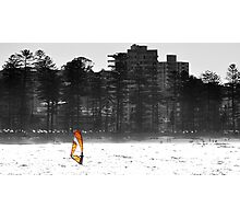 Manly Windsurfer Photographic Print