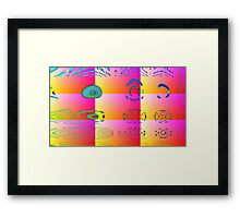 Aztac -Available As Art Prints-Mugs,Cases,Duvets,T Shirts,Stickers,etc Framed Print