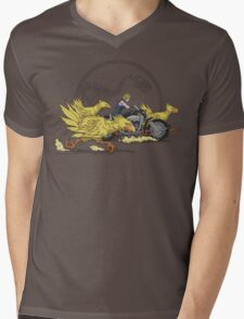 Jurassic Fantasy Mens V-Neck T-Shirt