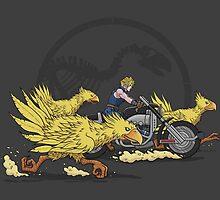 Jurassic Fantasy by evolvingeye