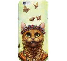 Butterfly Cat iPhone Case/Skin