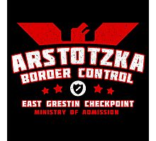 Papers Please - Arstotzka Border Control Photographic Print