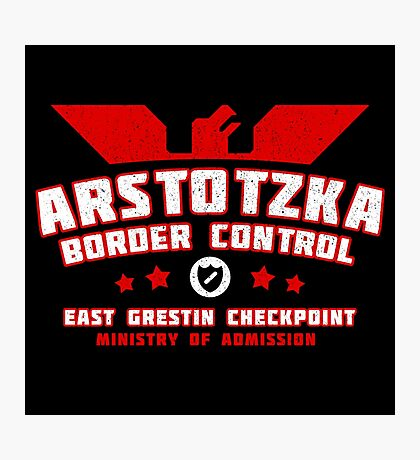 Papers Please - Arstotzka Border Control Photographic Print