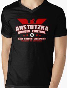 Papers Please - Arstotzka Border Control Mens V-Neck T-Shirt