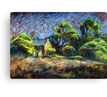 Old House in Draycott Canvas Print