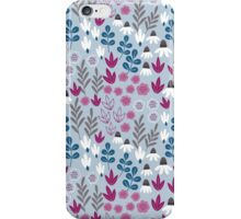 Delicate Blue Floral iPhone Case/Skin