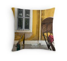 Rickshaw. Puducherry Throw Pillow
