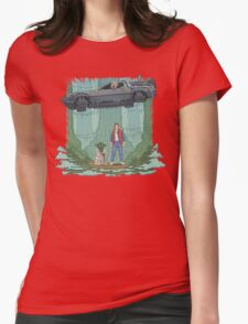 Back to the Swamp Womens Fitted T-Shirt