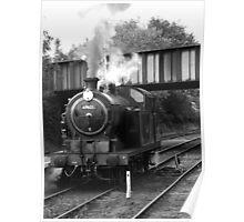 Norfolk steam train  Poster