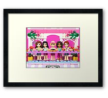Retail Therapy with Friends Framed Print